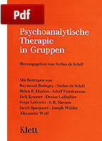 Psychoanalytische Therapie in Gruppen